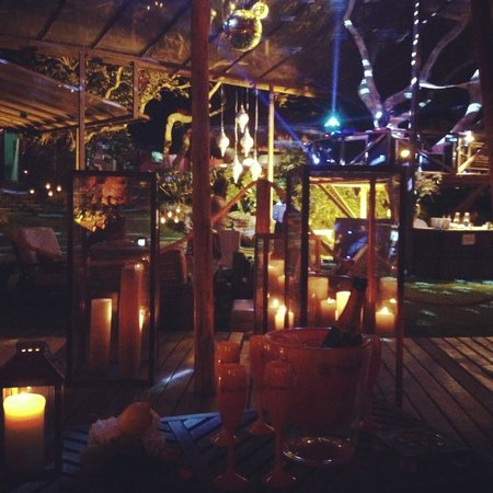 Insolito Boutique Hotel: Beach lounge new year 2013