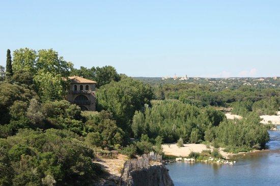Pont du Gard : вид с моста