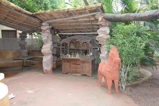 Ajit Bhawan: Espacio del Jardin