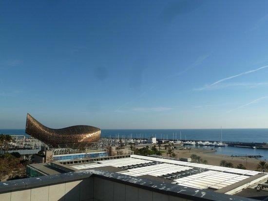Pullman Barcelona Skipper: vue de la terrasse