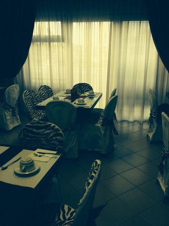 Hotel Guidi: Тут мы завтраки