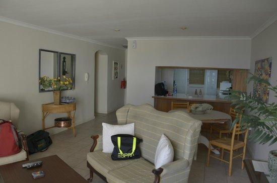 45 Marine Drive: Living Room