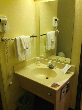 Days Inn Kent 84th Ave: sink area