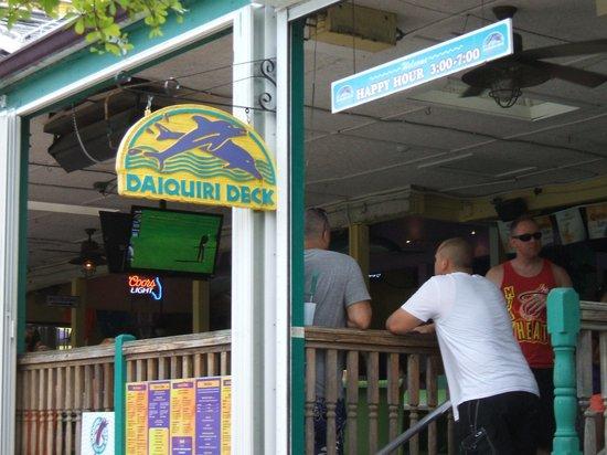 Siesta Key Village: Daiquiri Deck