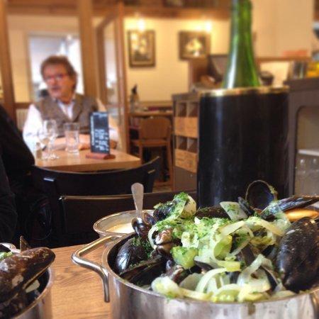 't Kriekske: Owner and mussels