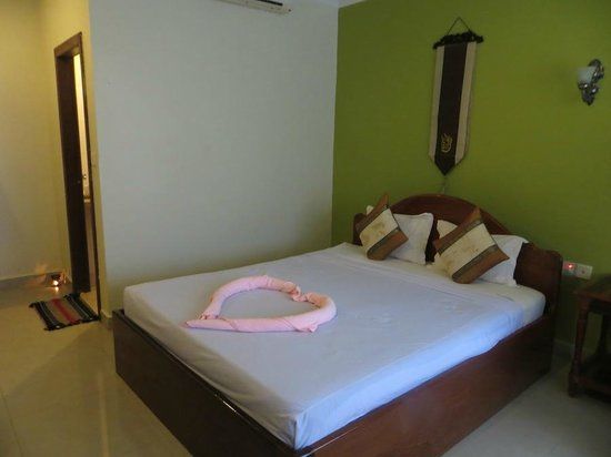 Angkor Secret Garden Hotel : Comfortable bed, air conditioning is great, and room is big