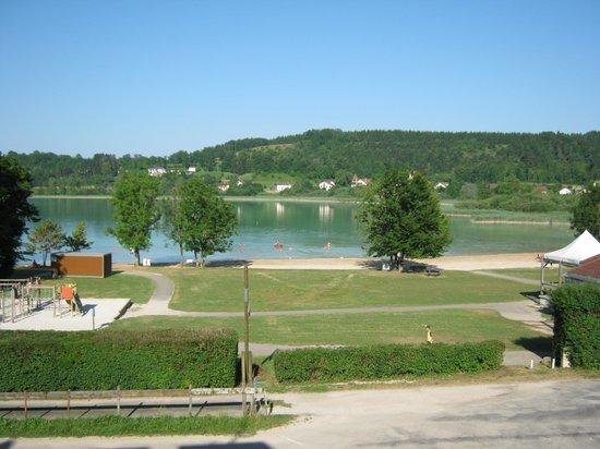 Hotel Restaurant La Chaumiere du Lac: vue de la chambre