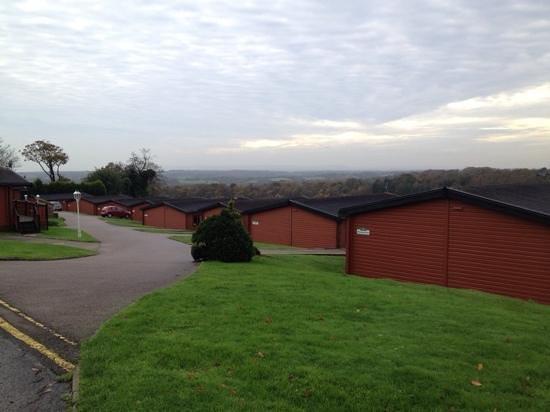 Crowhurst Park: View towards the sea