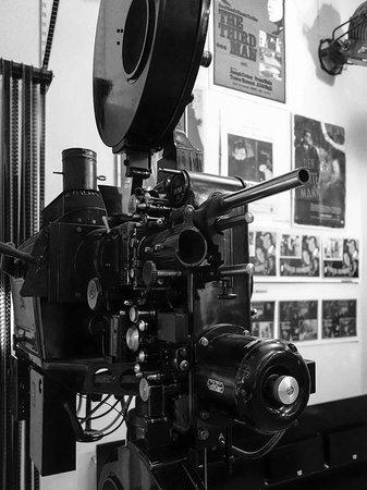 The Third Man Museum : Ein noch in Betrieb befindlicher Vorführapparat