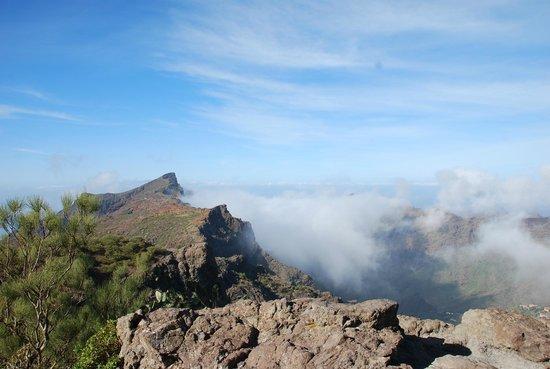 Masca, Spanien: облака