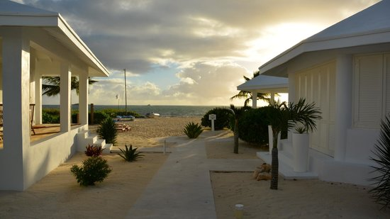 Guanahani Beach Club Resort: Verandablick