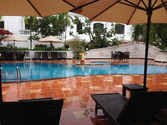 The Swimming Pool Picture Of Hotel Saigon Morin Hue