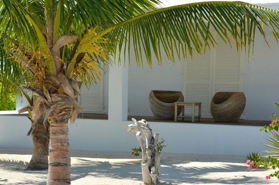 Guanahani Beach Club Resort: Verandastyle