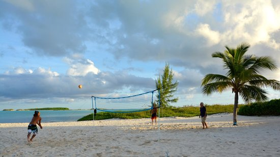 Guanahani Beach Club Resort: Beachvolleyball