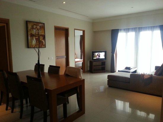 Sara Residence: Living area