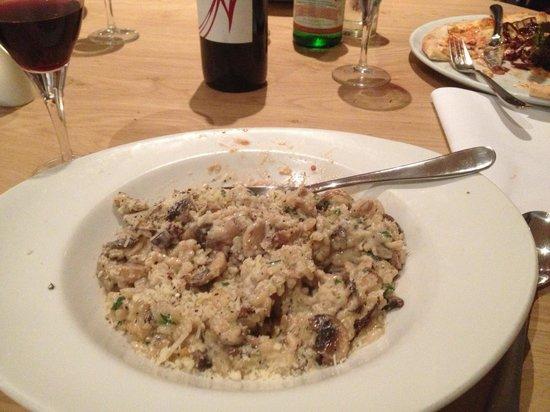 Aqua Restaurant: Mushroom risotto!!