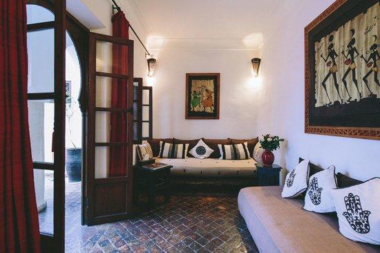 Riad Dar Zaman : Comfy sitting room