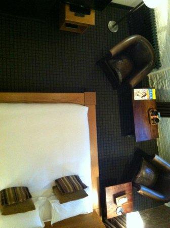 Hotel du Vin & Bistro: View from mezzanine