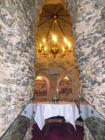 Auf Schönburg Burghotel und Restaurant: romantische Sitzecke