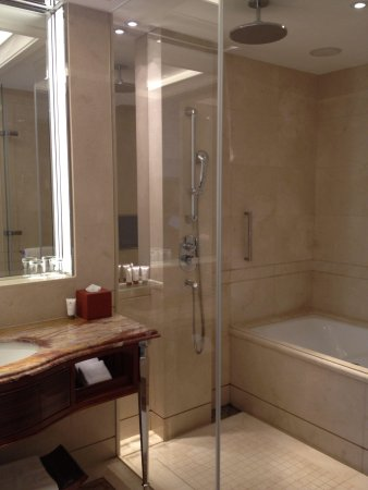 The Okura Prestige Taipei: Rain shower