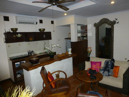 Pondok Pisces Bungalows: Good facilities for self catering