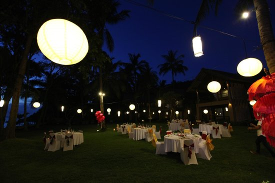 Jeeva Klui Resort: Wedding reception