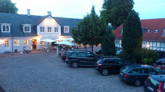 Best Western Hotel Knudsens Gaard : View from our room #121
