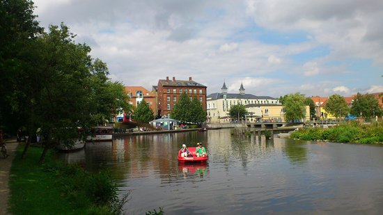 Best Western Hotel Knudsens Gaard : From the Creek in the city centre of Odense