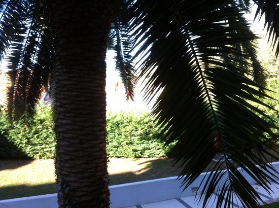 """Maestral Resort & Casino: """"View"""" from my room, side wing"""