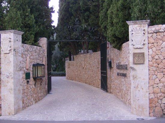 Valldemossa Hotel: mur de pierres