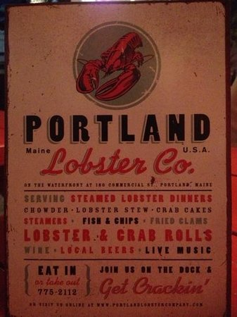 Portland Lobster Co: lobster co