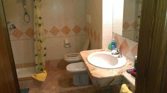 West Garda Hotel: Bagno (Mini appartamento)
