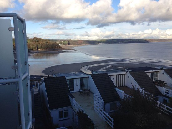 St Brides Spa Hotel : View from 2nd floor room 202