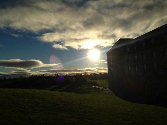 Fairmont St Andrews: Sunrise outside on the grounds