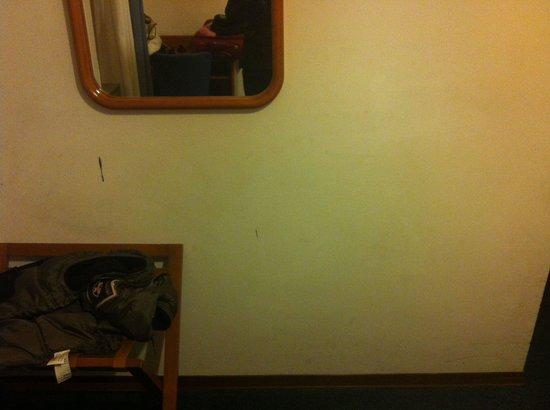 Hotel Baccio da Montelupo : Sporcizia sui muri...