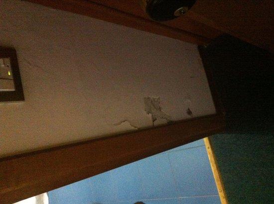 Hotel Baccio da Montelupo: Muri scrostati...