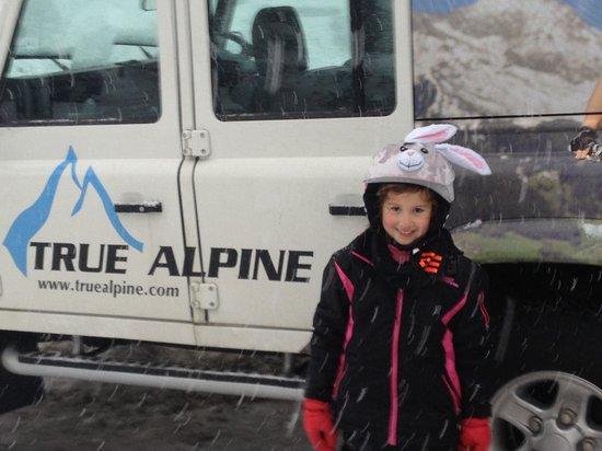 True Alpine : Post ski and tired