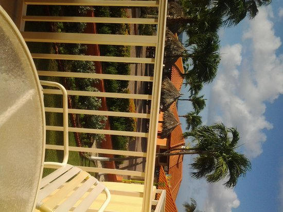 Aruba Beach Club: view from room 254