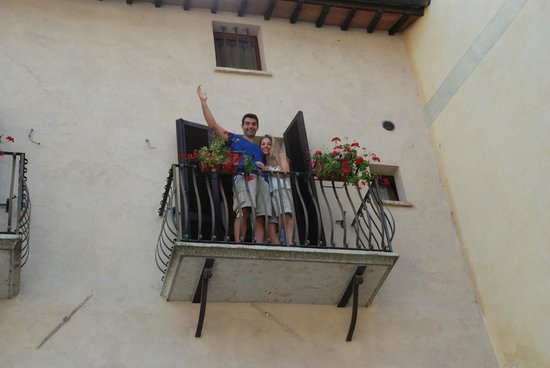 La Locanda Di Cetona : the balcony at 201...
