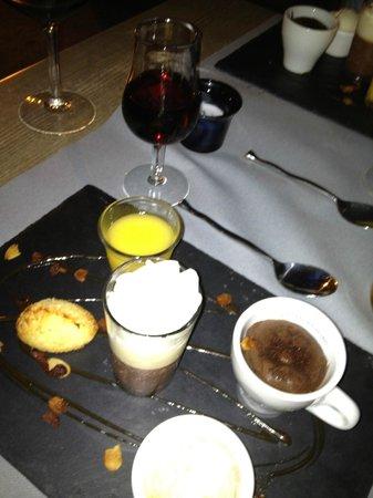 Le Grillardin: Десерты (меню дегустация)