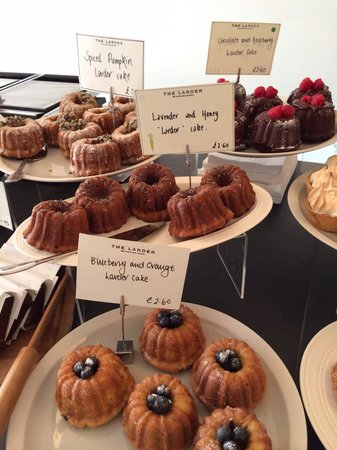 The Larder: The famous Larder Cake in a range of delicious flavours