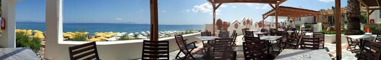 Mitsis Norida Beach Hotel: Restaurant am Meer