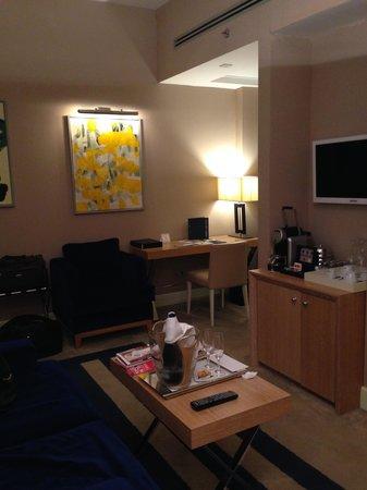 The First Luxury Art Hotel : рабочая зона