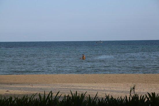 Shiva Samui – The New Name for Samui Beach Village: the beach in front of the villa
