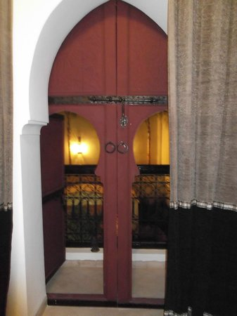 Riad Dar Karma: looking outside from the room.