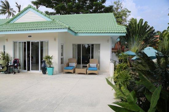 Shiva Samui: villa rim haad entrance