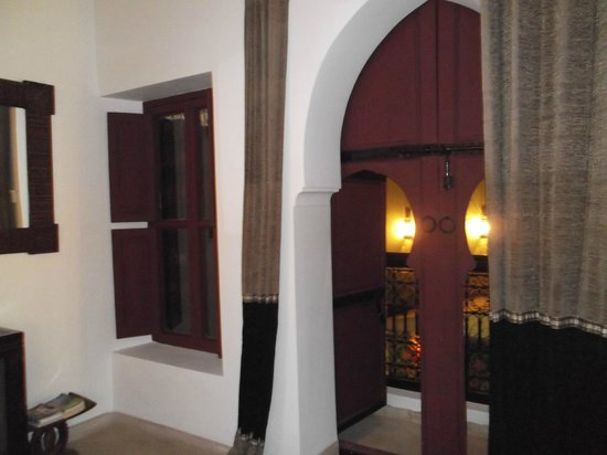 Riad Dar Karma : from inside our bedroom