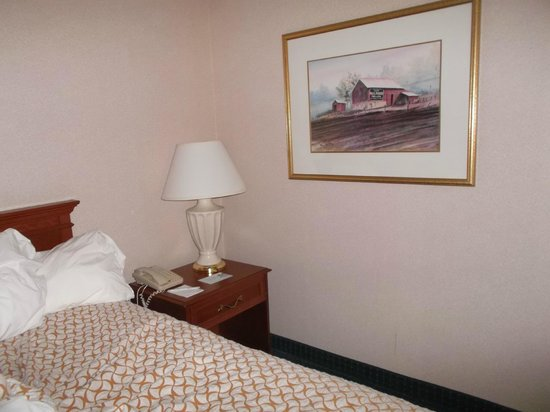Embassy Suites by Hilton Cleveland Rockside: My wonderful & quiet room