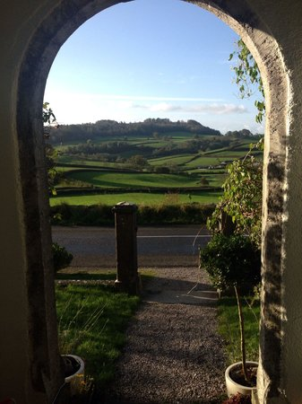 Crosthwaite House : View from the front door