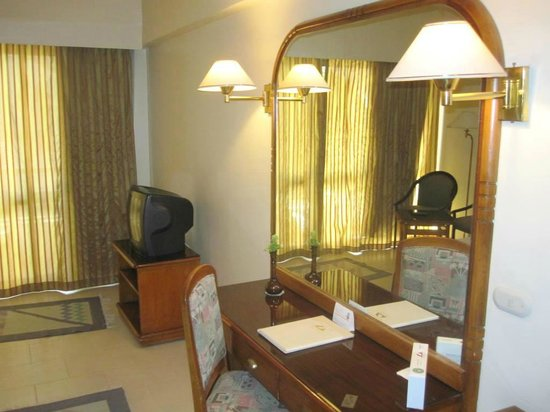 Basma Hotel : My room.. After I organized things a bit!